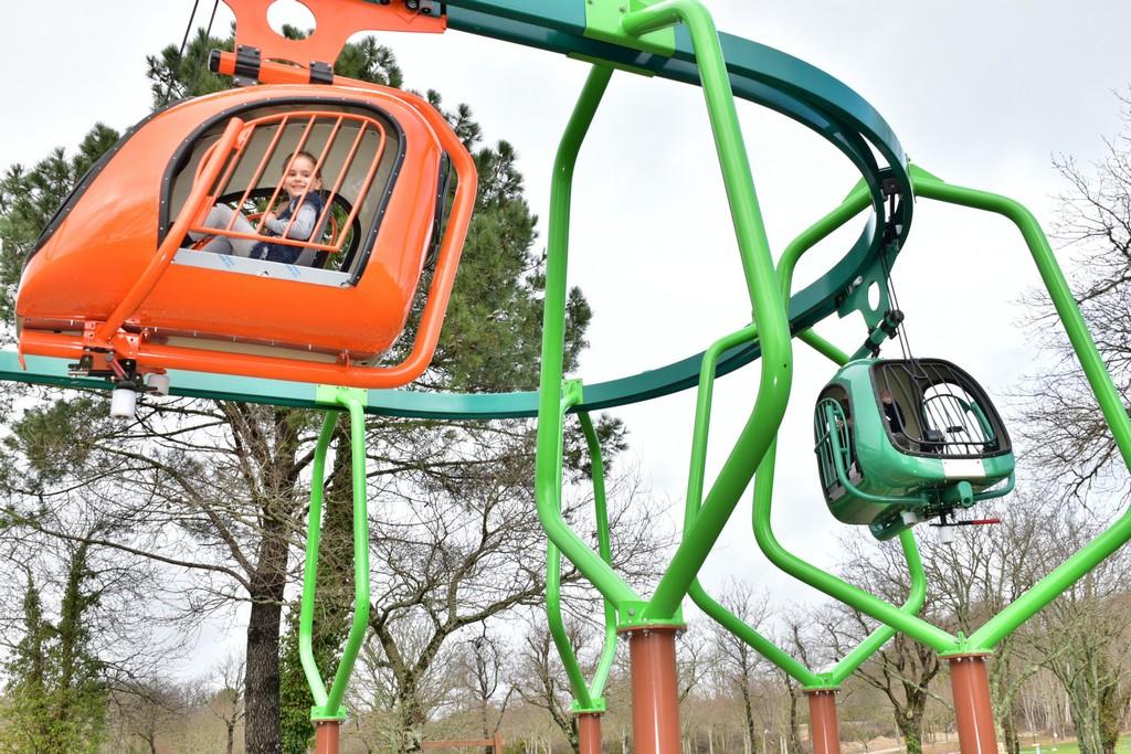 Parc Jeux Plein Air Enfants Morbihan