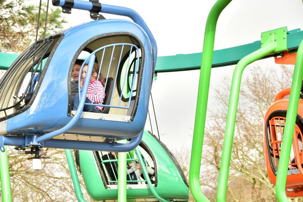 Parc Jeux Plein Air Enfants Bretagne