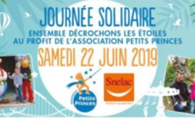 Journée Solidaire au Parc d'attraction Le P'tit Délire dans le Morbihan