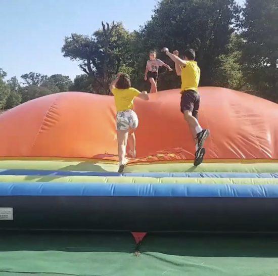 parc de jeux gonflable morbihan